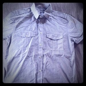 Button up collared shirt
